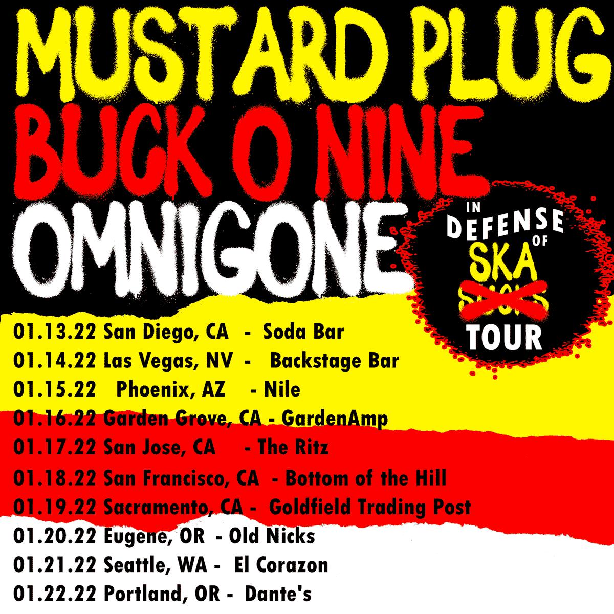 Buck-O-Nine on Tour 2022